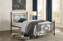 Twin Metal Platform Bed/2051TBK-1