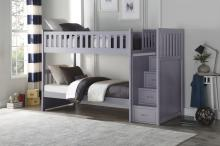 (4)Bunk Bed with Reversible Step Storage/B2063SB-1*
