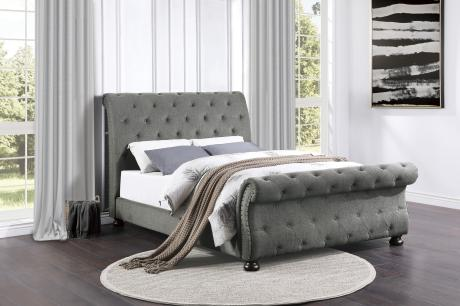 (3) Queen Bed/1549GY-1*